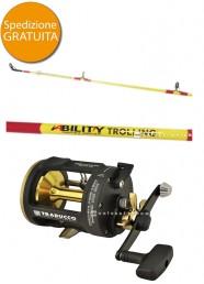 Combo Traina Bulox Ability 8-30 Lb + Neptune SR