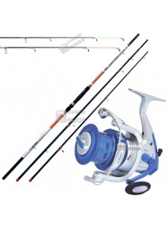 Combo Beach Ledgering Beach Ripper 4 m 100 g+Blue Eagle 6000