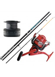 Combo Surfcasting Canna Mitchell Catch 150g + Mulinello Ocean Master 80