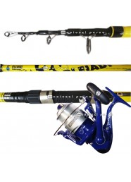 Combo Surf Casting Canna Pleiadi 4.20 m+Mulinello Merengue 6500