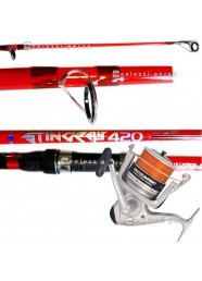 Combo Surf Casting Canna Stingray 4.20 m+Mulinello Oceanic Pro Surf 8000