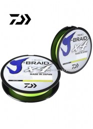 Trecciato Daiwa J Braid X4 Yellow 135 m