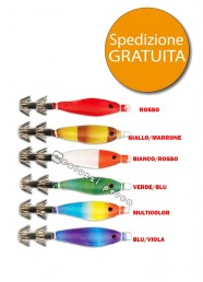 Stock Totanara Natural Soft Squid Jig 12 pezzi Offerta