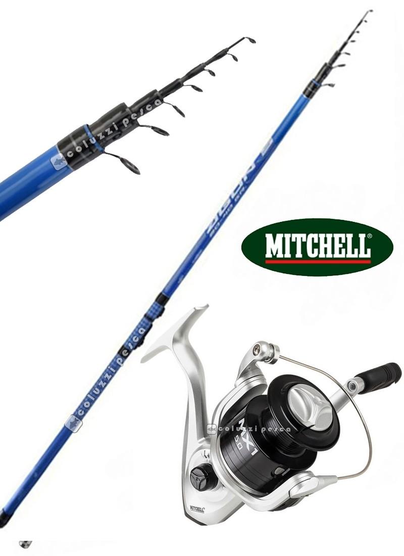 Combo Bolognese GF Agon 7 m + Mitchell MX1 FD 2000