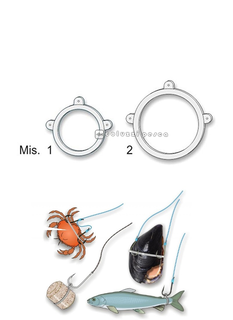Anelli Elastici per Esche Magnum Mis. 2 Stonfo Art 596