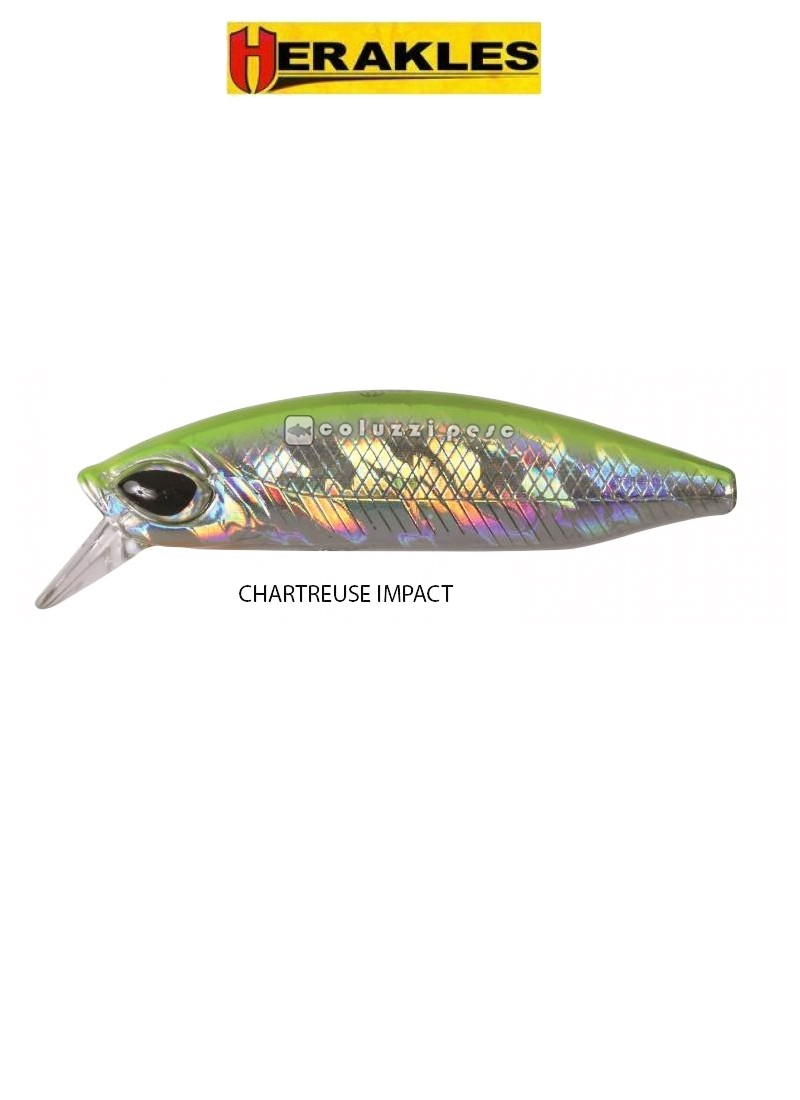Artificiale Herakles Bullet 85 Chartreuse Impact