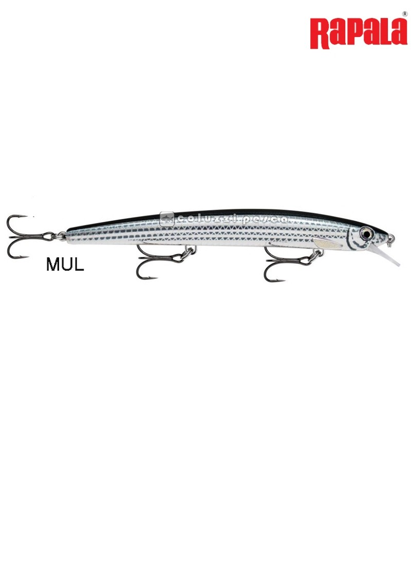 Artificiale Rapala Max Rap 17 cm MUL