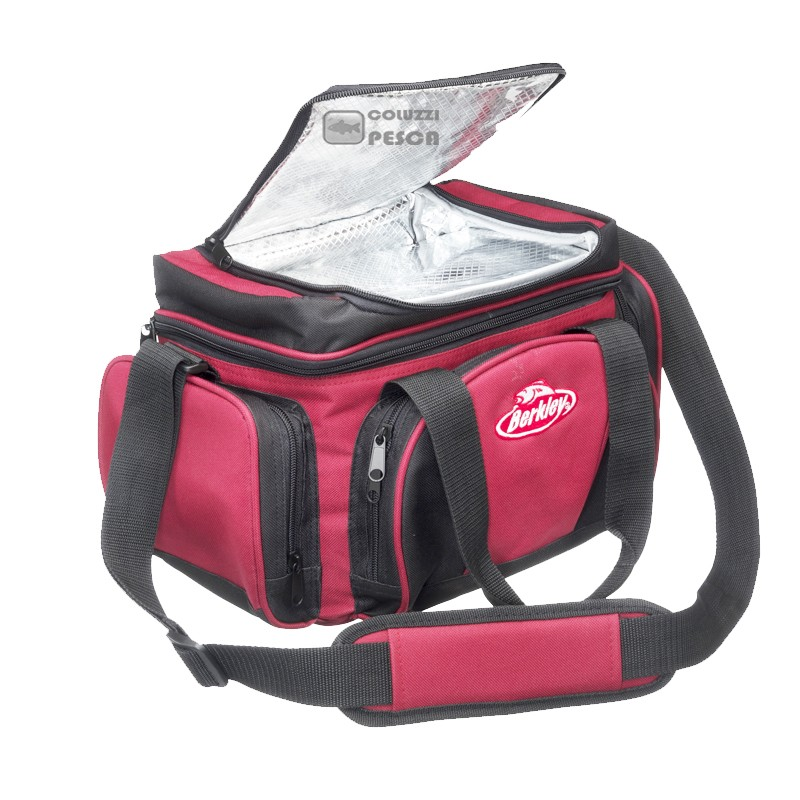 Borsa Berkley System Bag L Rosso Scuro