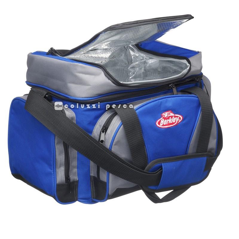 Borsa Berkley System Bag L Blu e Grigio