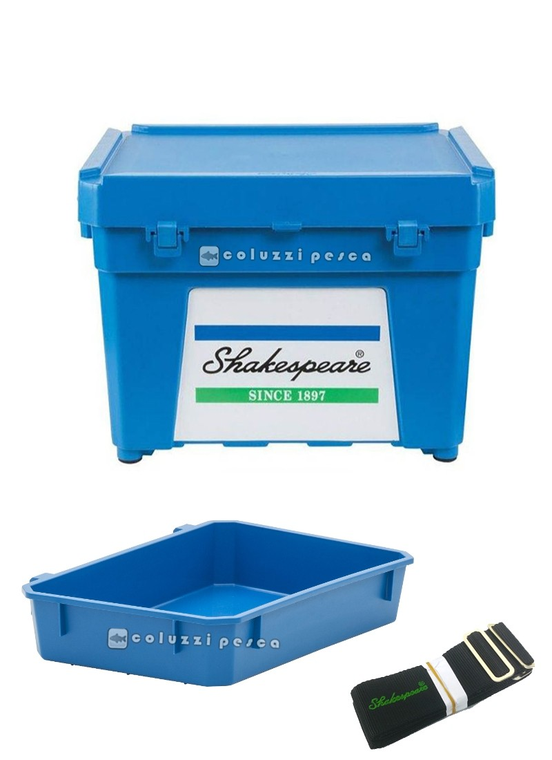 Cassettone Shakespeare Seat Box Blue