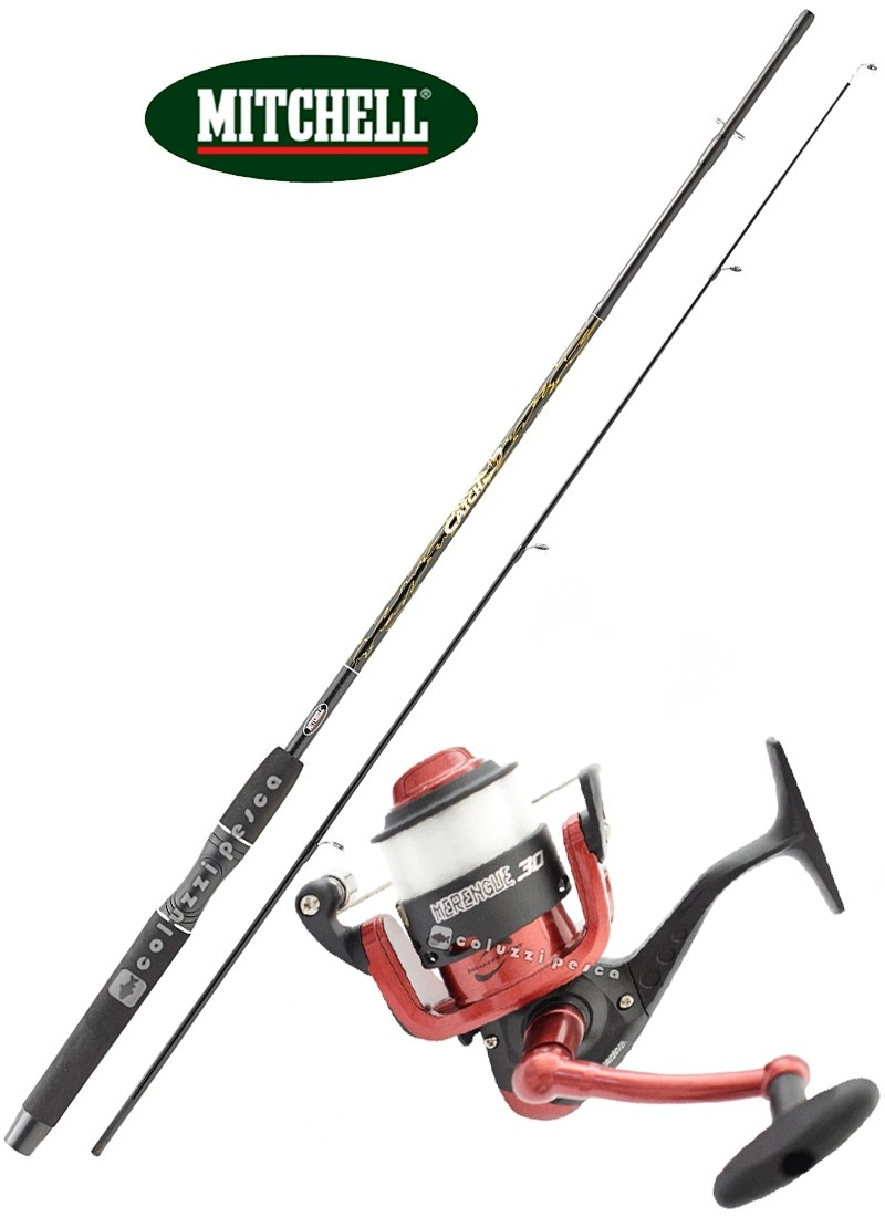 Combo Spinning Mitchell Catch 210 g 8-25+Merengue 4000