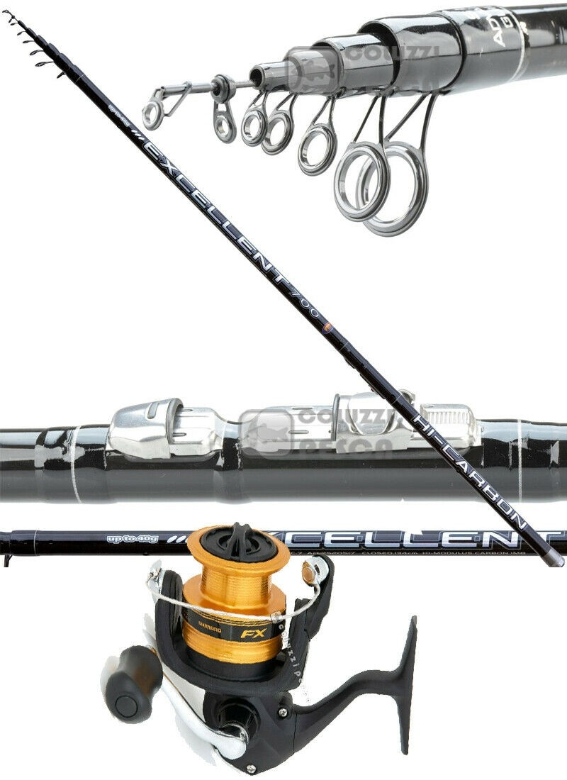 Combo Bolognese Excellent 7 m+Shimano FX 2500