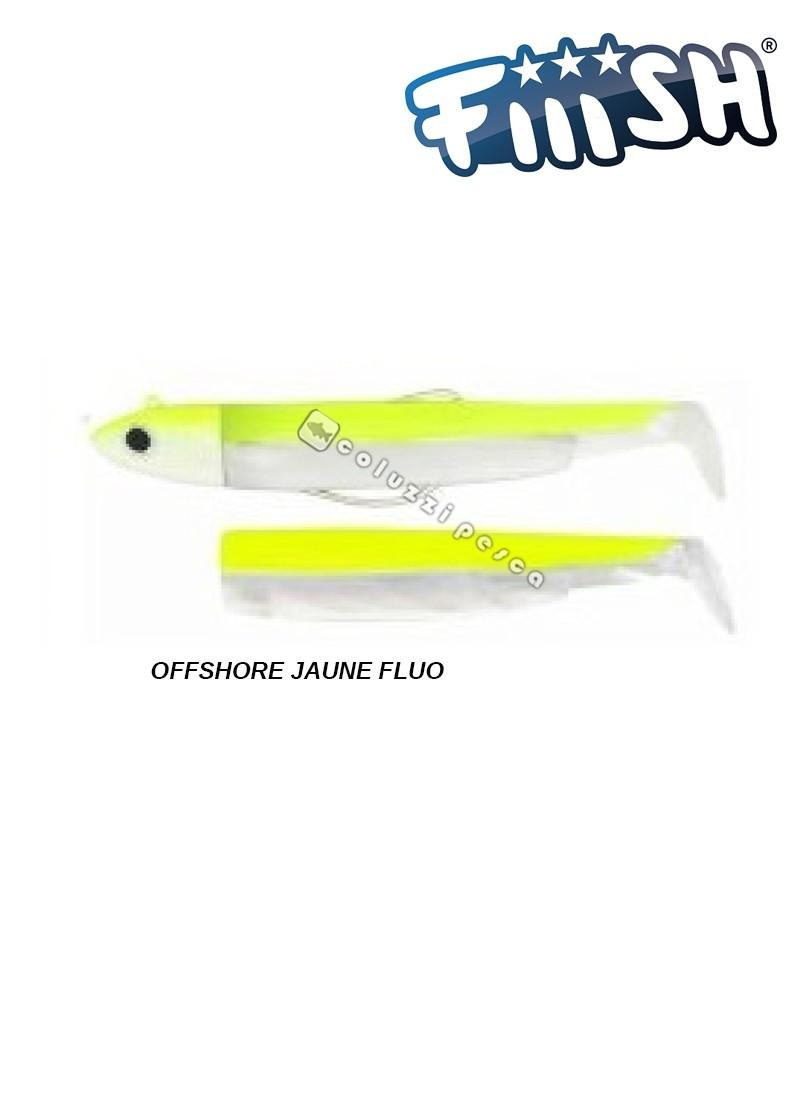 Fiiish Combo Black Minnow 120 mm N 3 g 25 Jaune Fluo