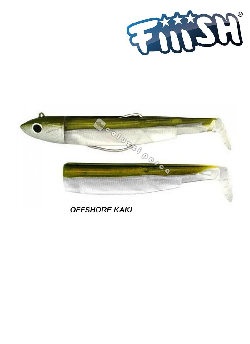 Fiiish Combo Black Minnow 70 mm N 1 g 6 Kaki