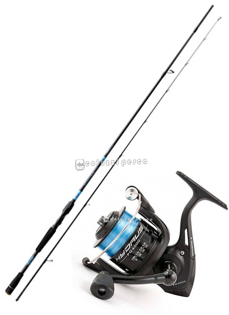 Combo Spinning Rapid Strong Spinn 240+Hydrus FD 4000