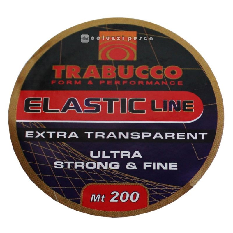 Filo Elastico Trabucco Elastic Line 200 m
