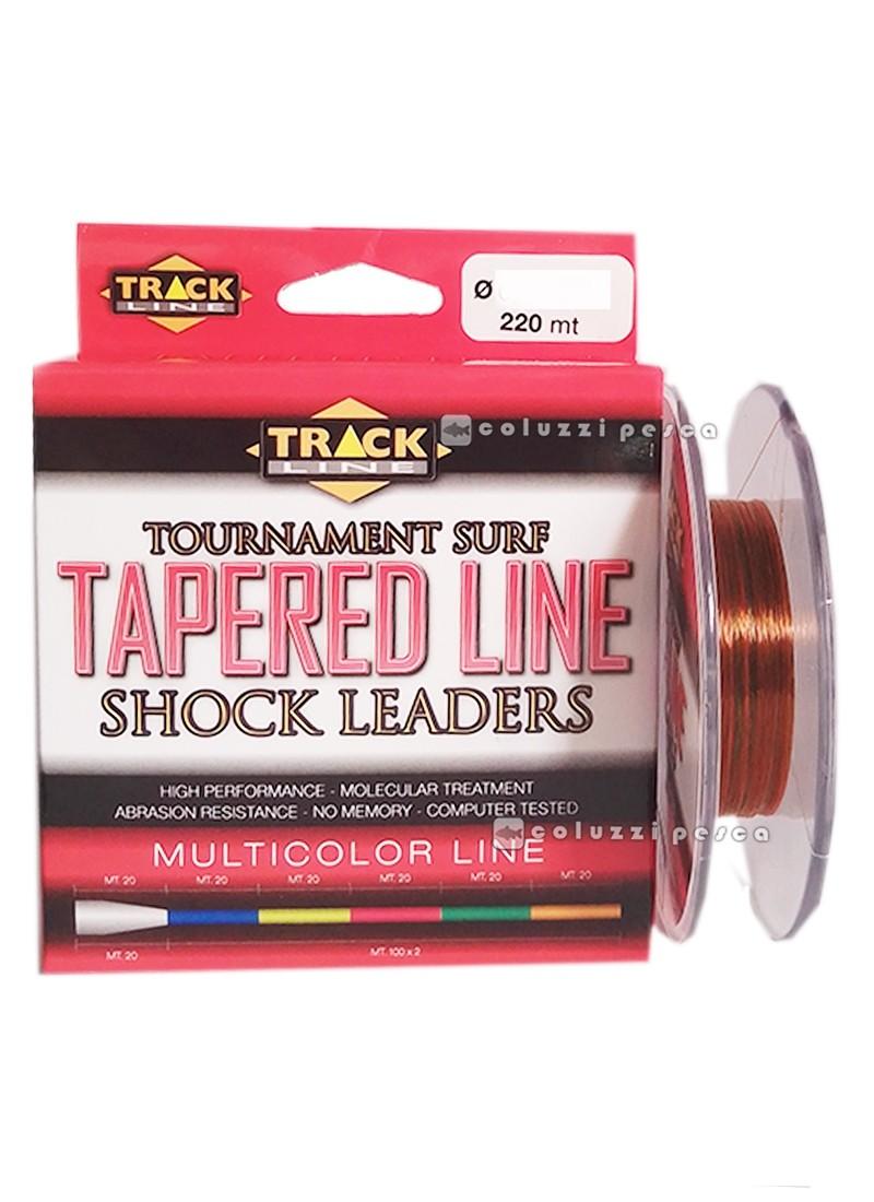 Filo Conico Tapered Line Multicolor Track Line 220 m