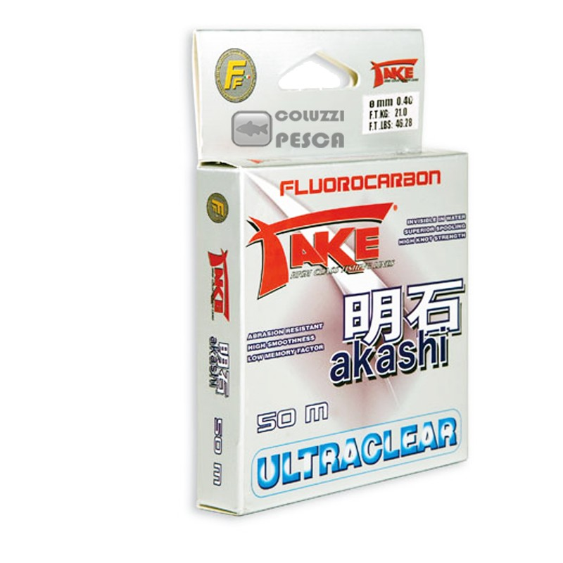 Fluorocarbon Take Akashi Ultraclear 50 m