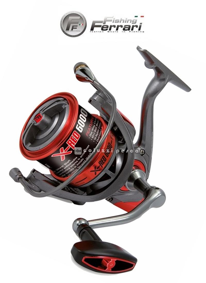 Mulinello Fishing Ferrari X Red 6000 FD