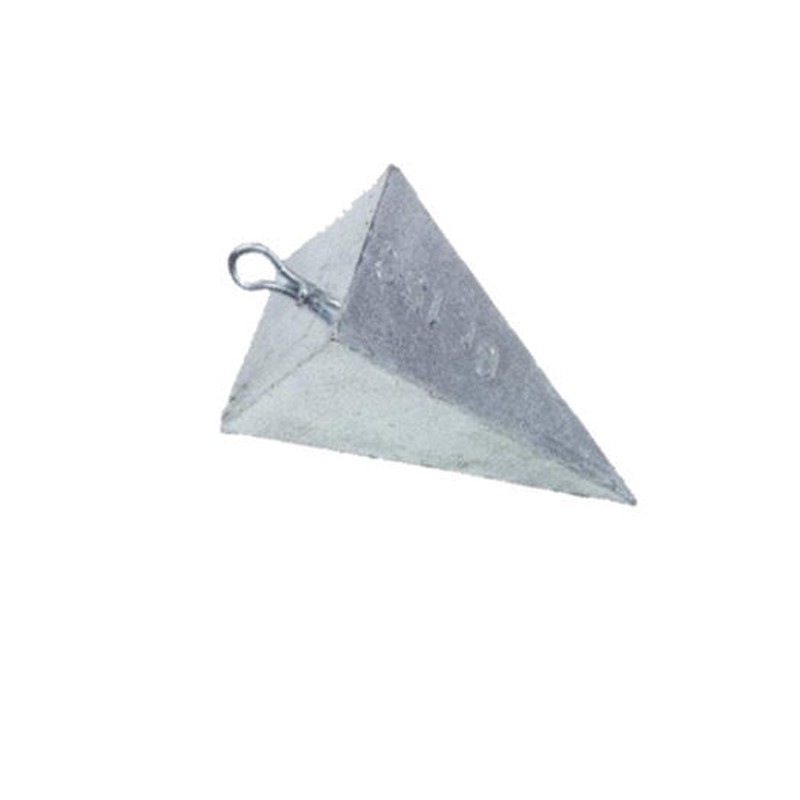 Piombo Piramide Anello
