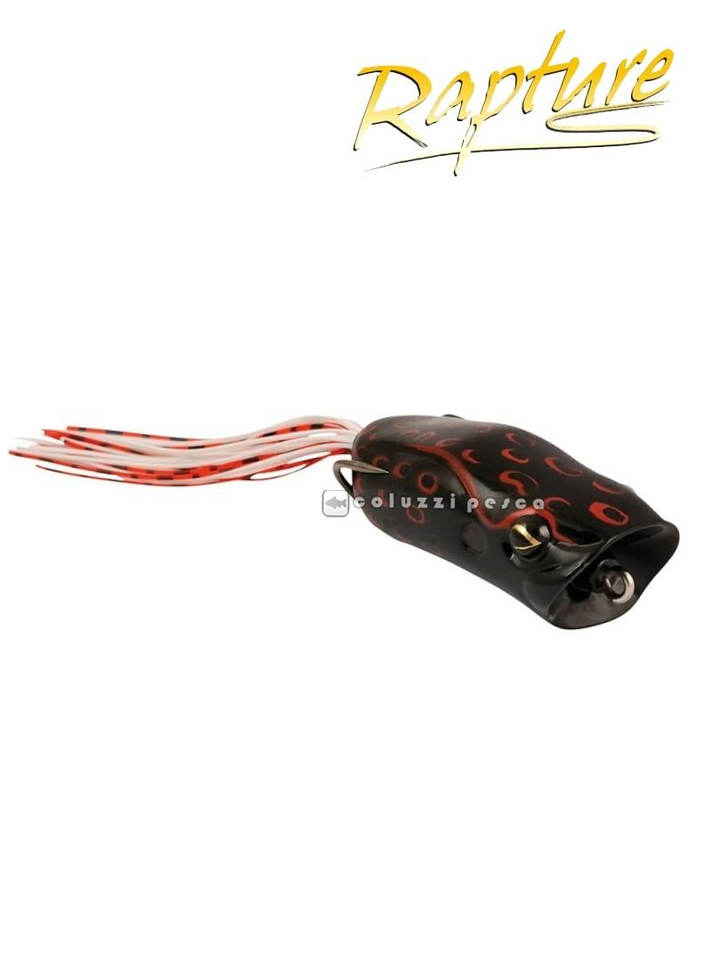 Artificiale Rapture Popper Frog 6 cm 15 g BLACK BLEEDING