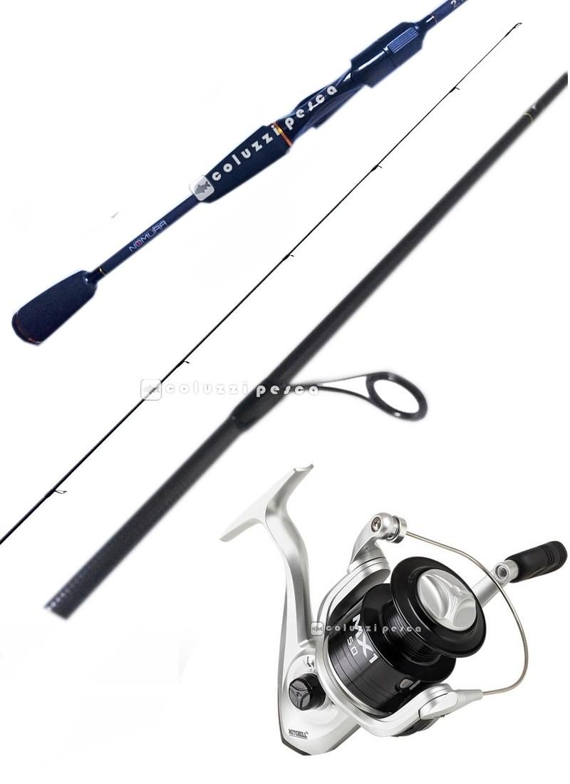 Combo Spinning Samurai 240 g 7-35 + Mitchell MX1 FD 4000
