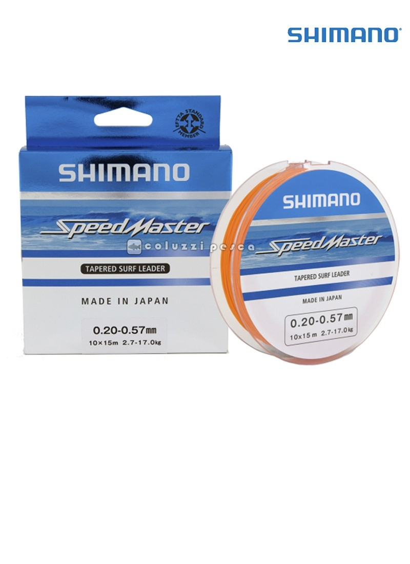 Filo Conico Shimano Speedmaster Tapered Leader 10x15 m
