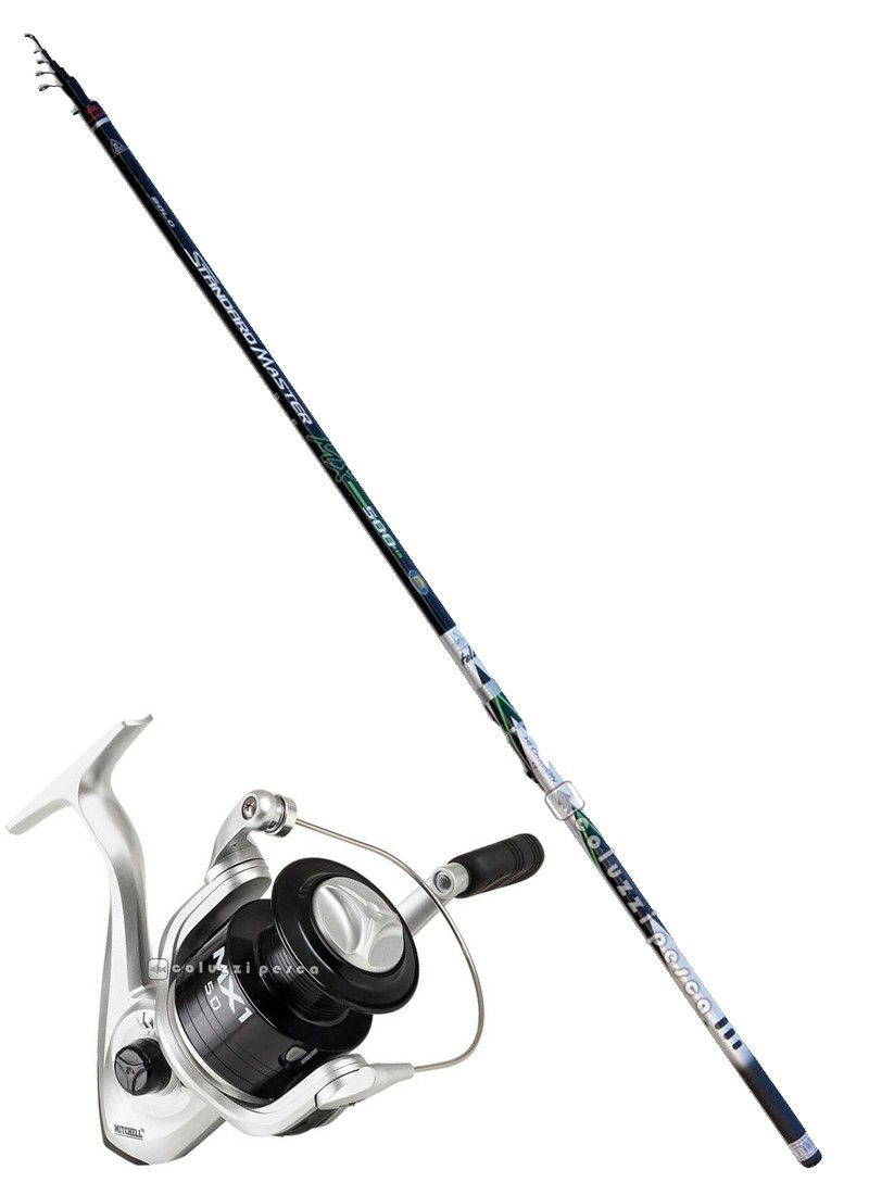 Combo Bolognese Standard Master Bolo 6 m+Mitchell MX1 FD 2000