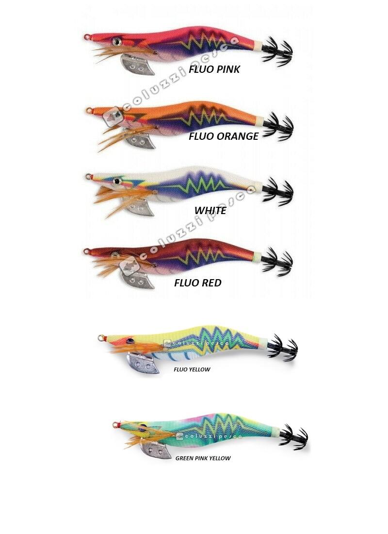 Stock Totanara Thunder Squid Jig 25 Pezzi Offerta