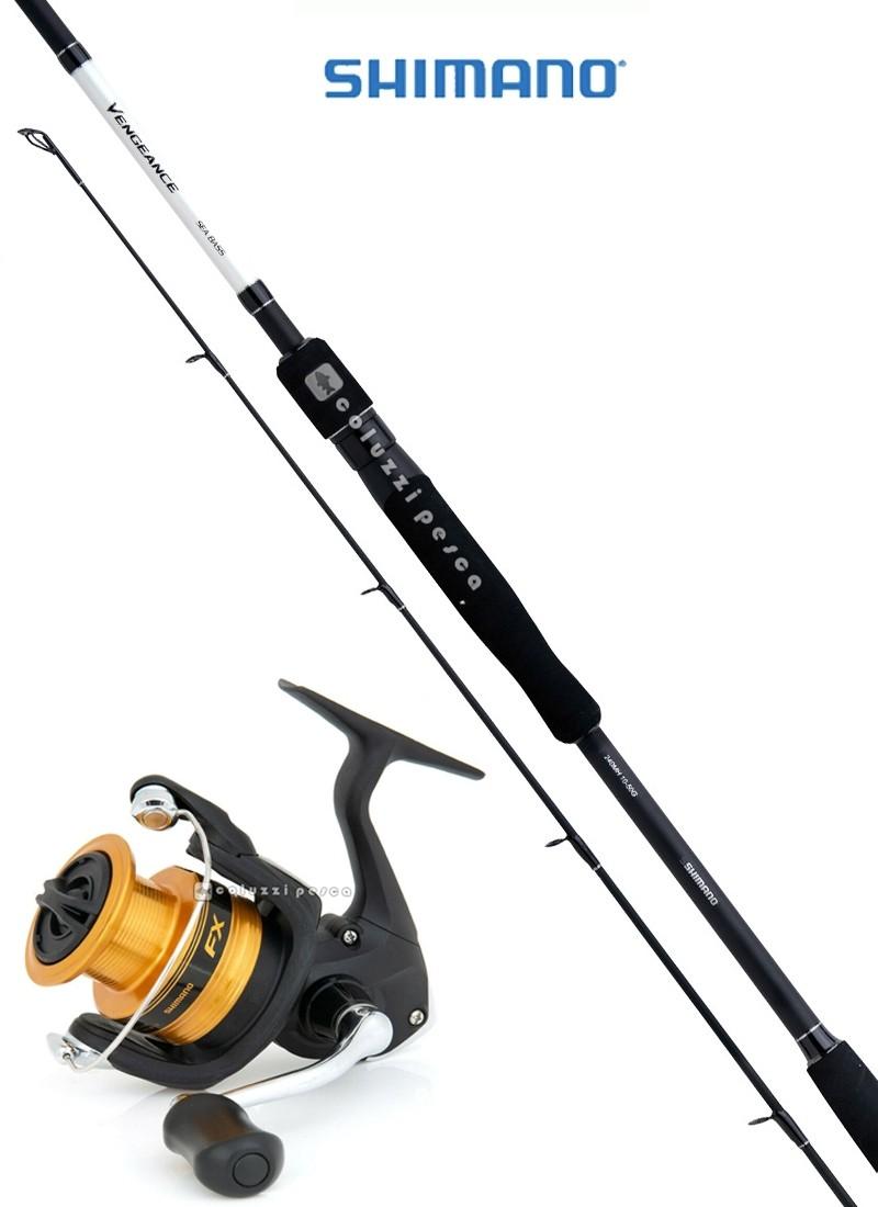 Combo Spinning Vengeance CX Sea Bass 210 g7-35+FX 4000 FC