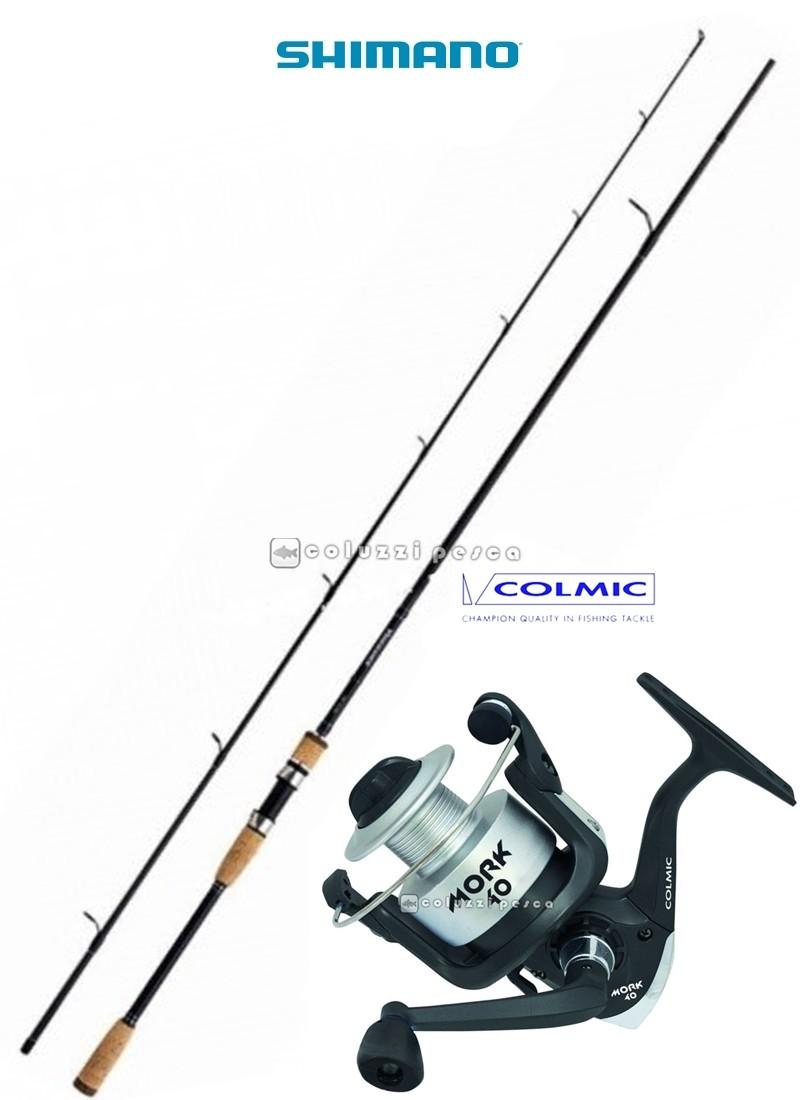 Combo Spinning Vengeance 210 g 3-15+Colmic Mork 2000