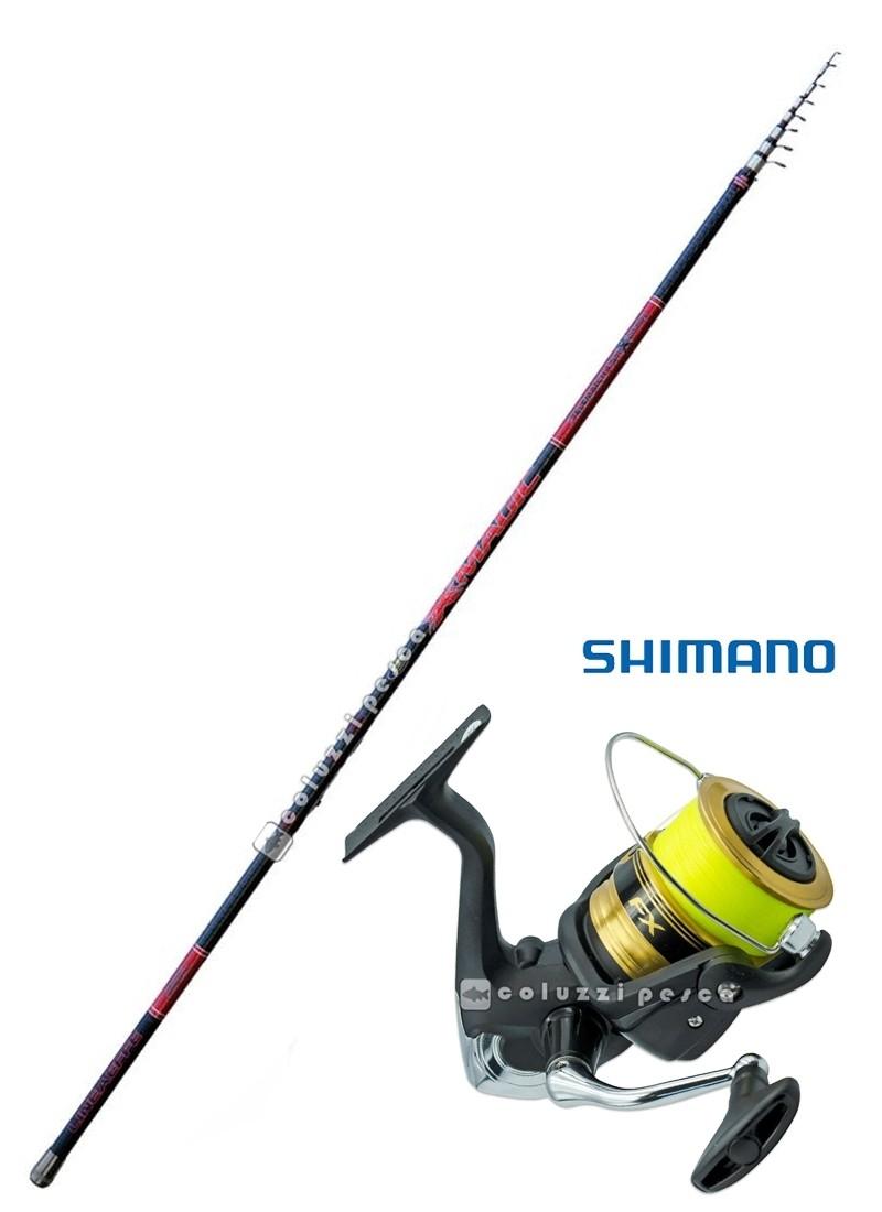 Combo Bombarda X Magic 20-80 g + Shimano FX 4000 FCL