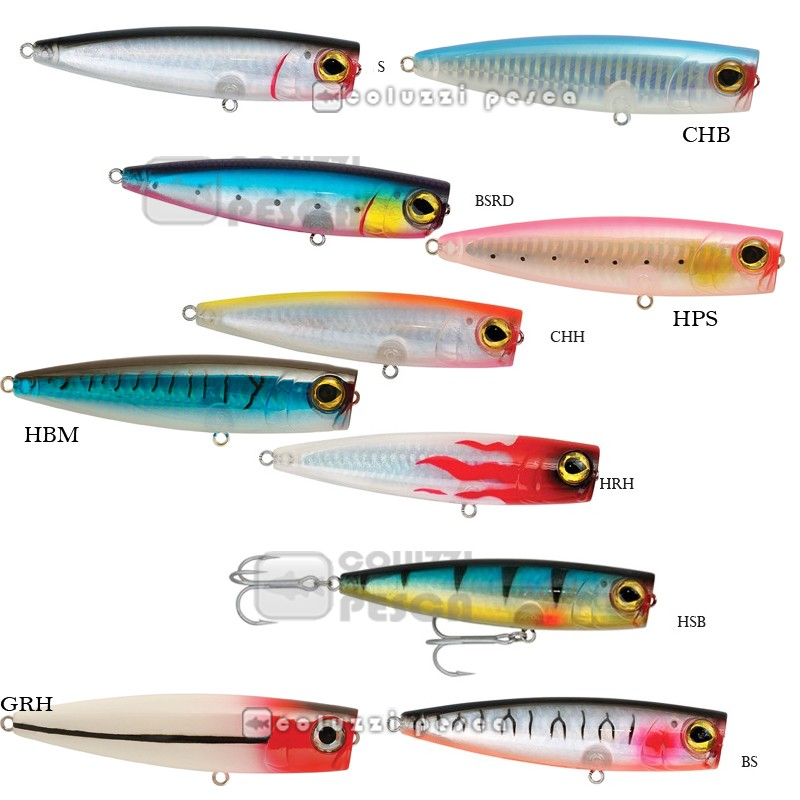 Artificiale Popper Trabucco Rapture Yankee Pop 105 mm 24 g col CHB