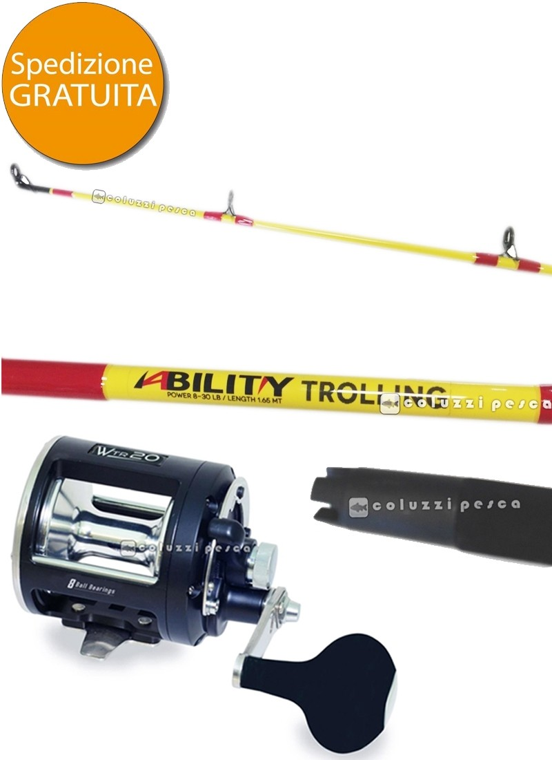 Combo Traina Ability 8-30 Lb+Colmic WTR 25 Lb
