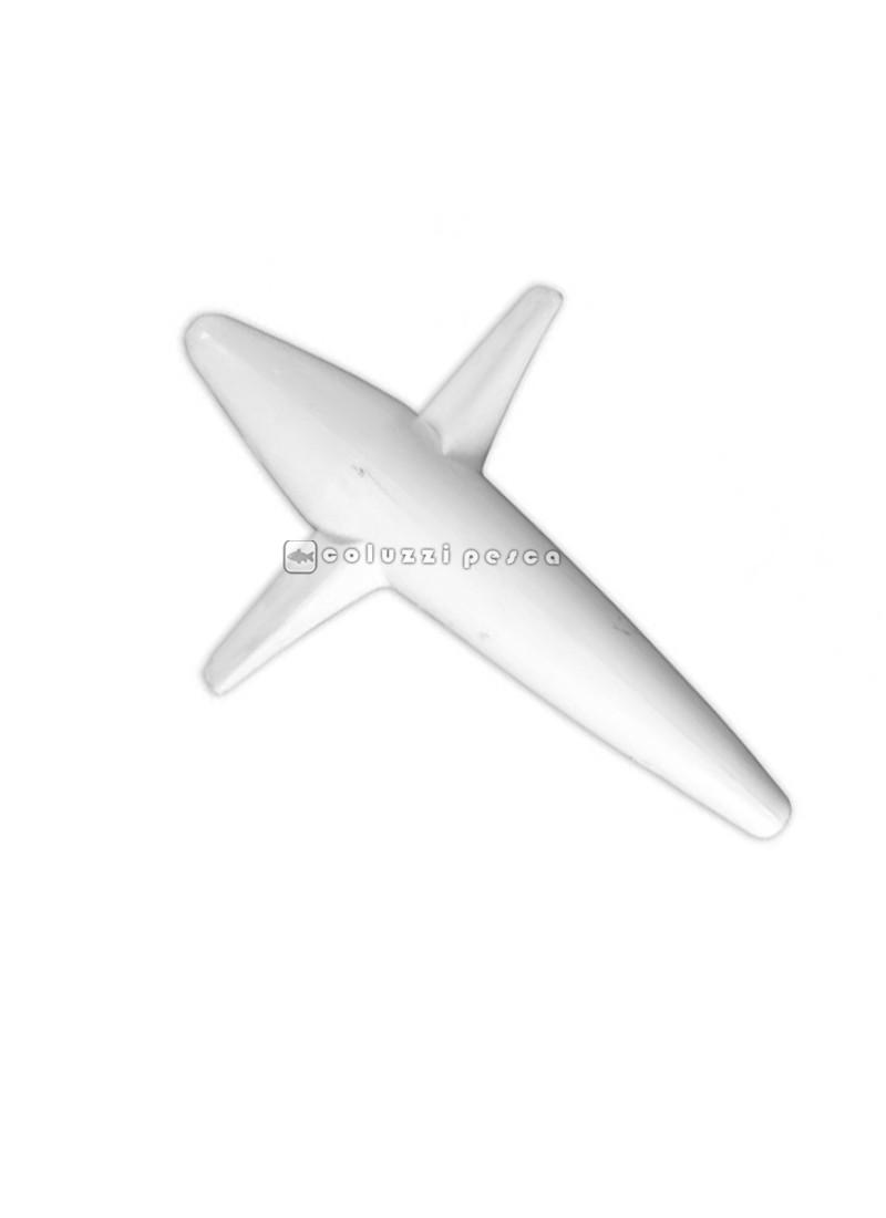 Aeroplanino Teaser Passante Bianco