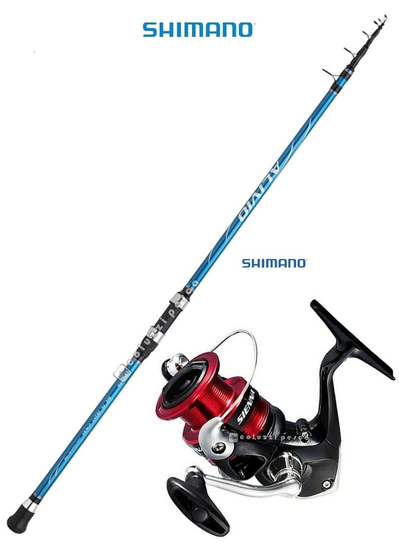 Combo Barca Alivio BX Tele Boat 2.40 m 50-150 g+Shimano Sienna 4000 FG