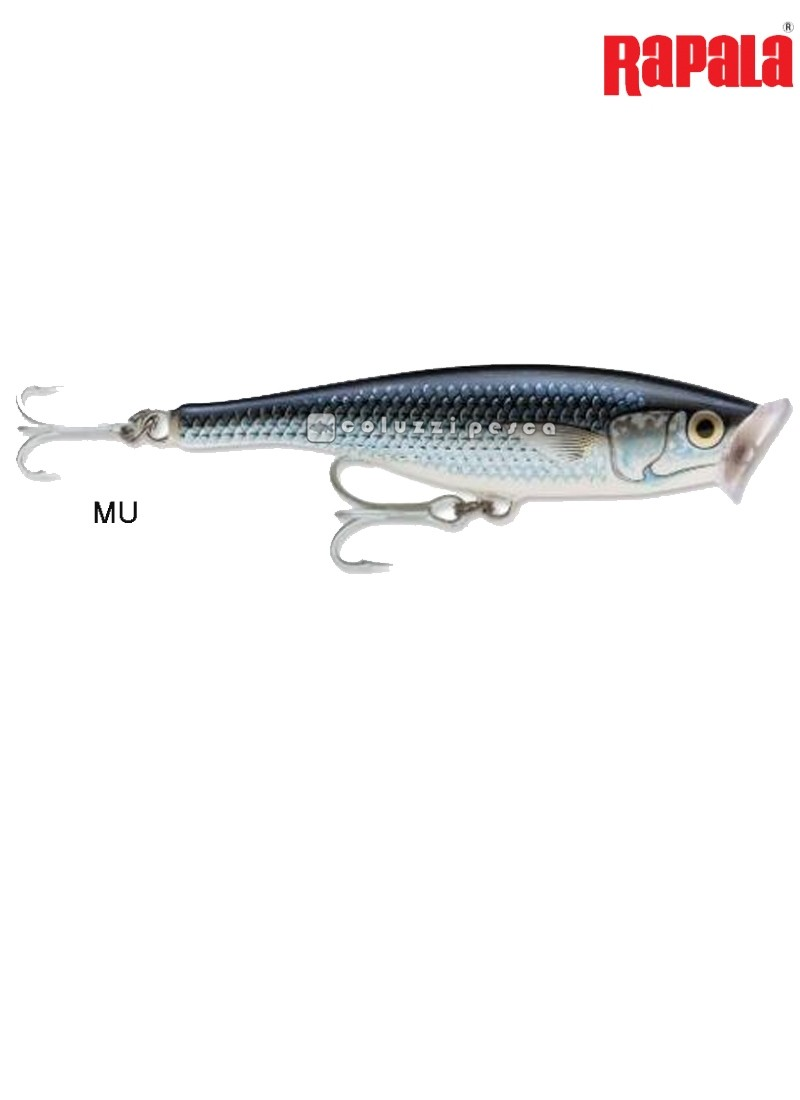 Artificiale Rapala Saltwater Skitter Pop 12 cm MU