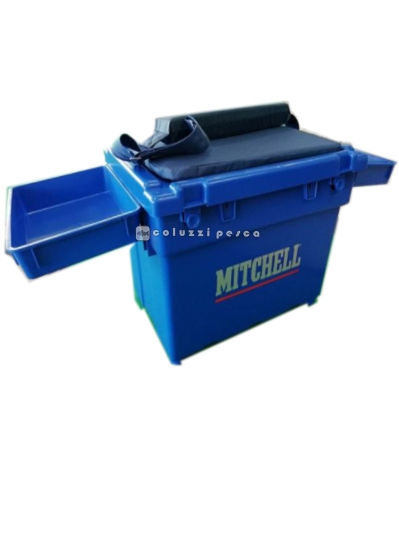 Cassettone Mitchell Seat Box Blue