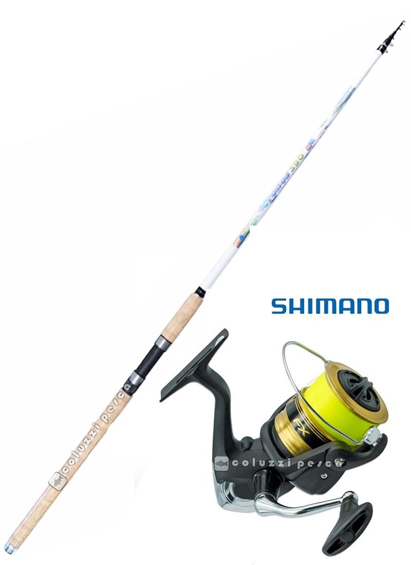 Combo All Rounder Cronos 390 + Shimano FX 4000 Spooled