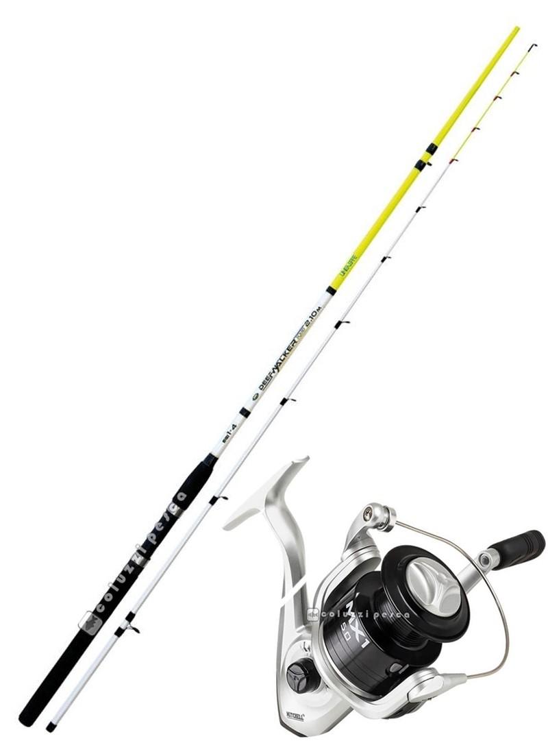 Combo Spinning Deep Walker 210+Mitchell MX1 FD 4000