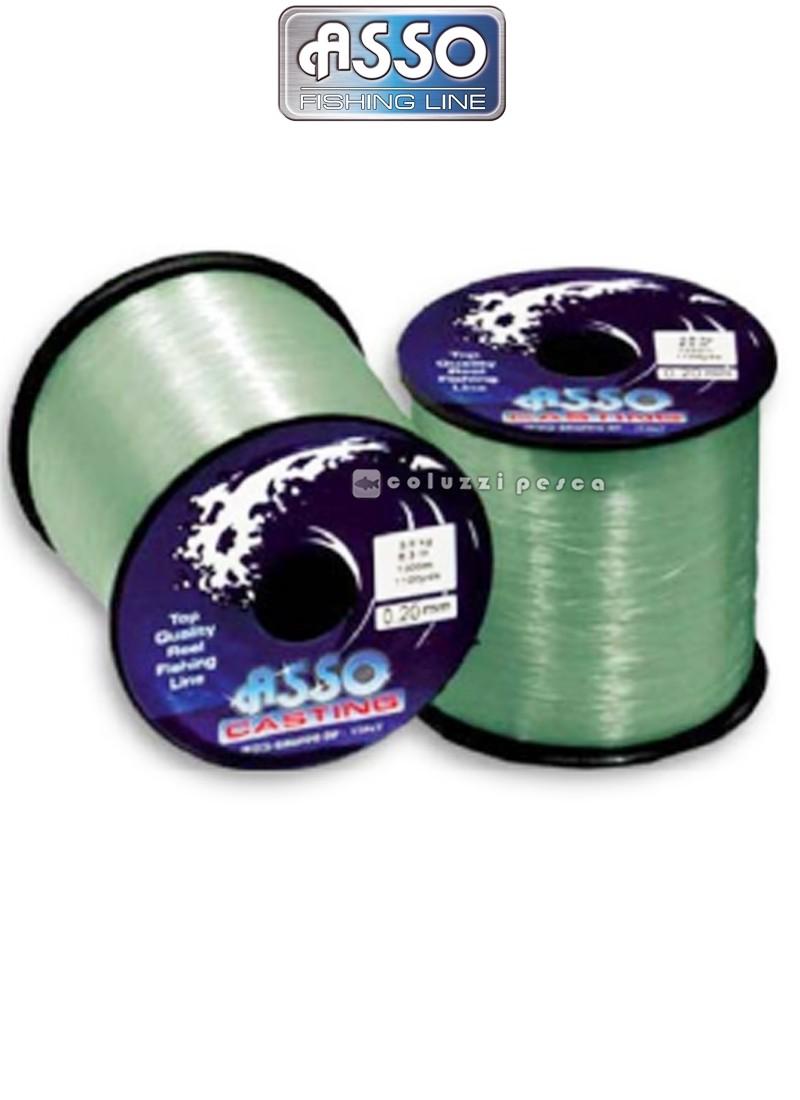 Filo Asso Casting 1000 m Green