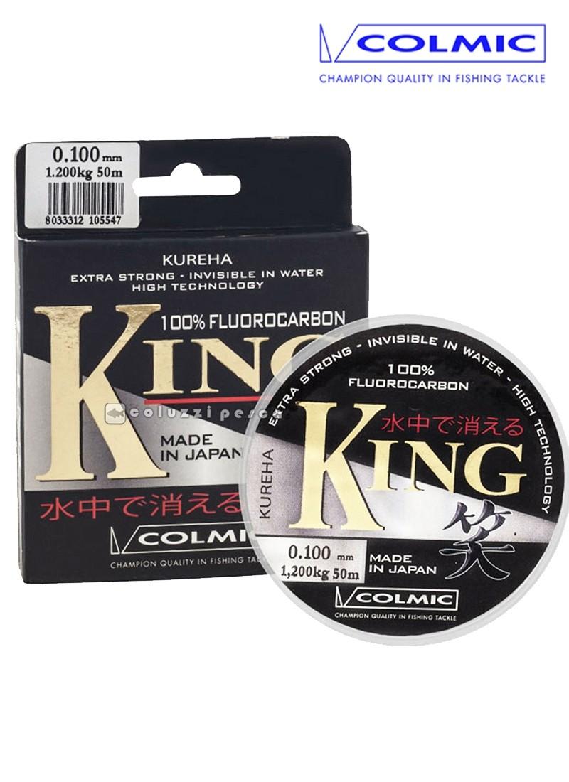 Filo Fluorocarbon Colmic King 50 m