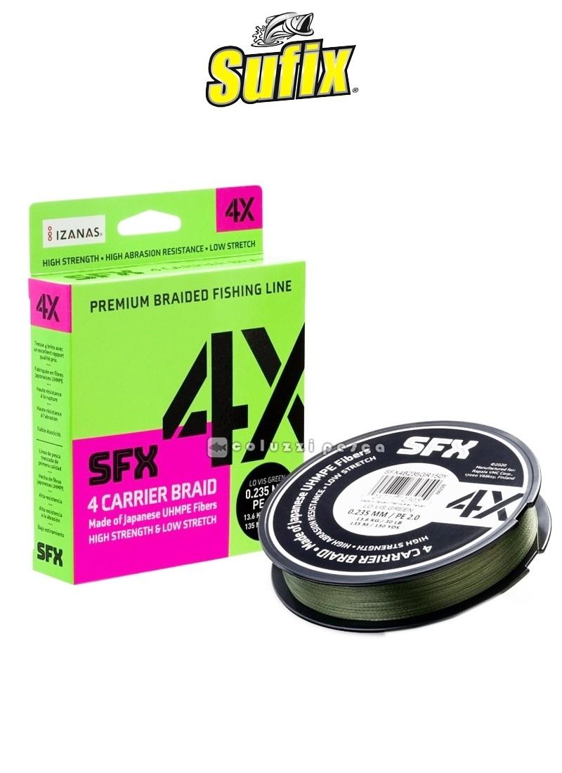 Trecciato Sufix SFX 4X 135 m