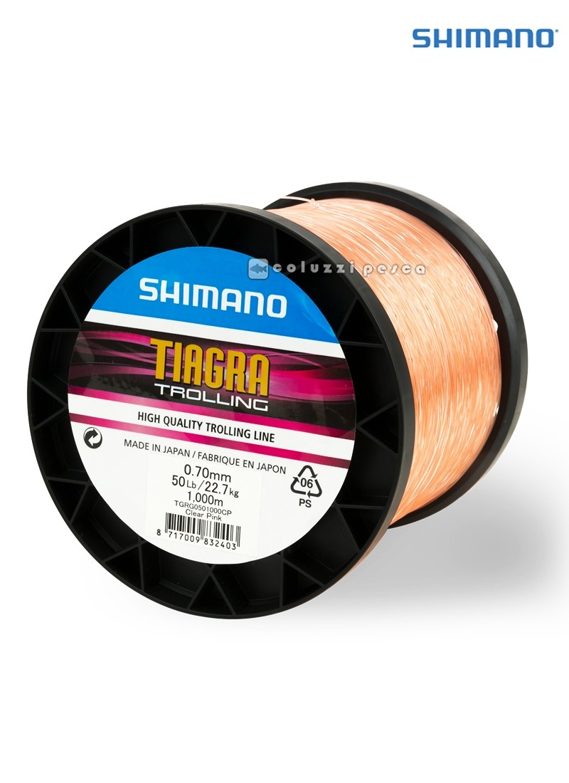 Filo Shimano Tiagra Trolling 1000 m Clear Pink