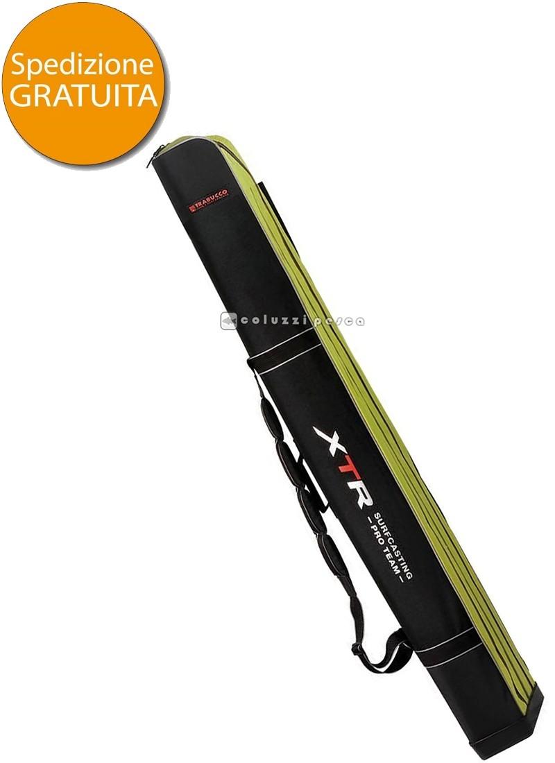 Fodero Porta Canne Rigido Trabucco XTR Rod Case XL 165
