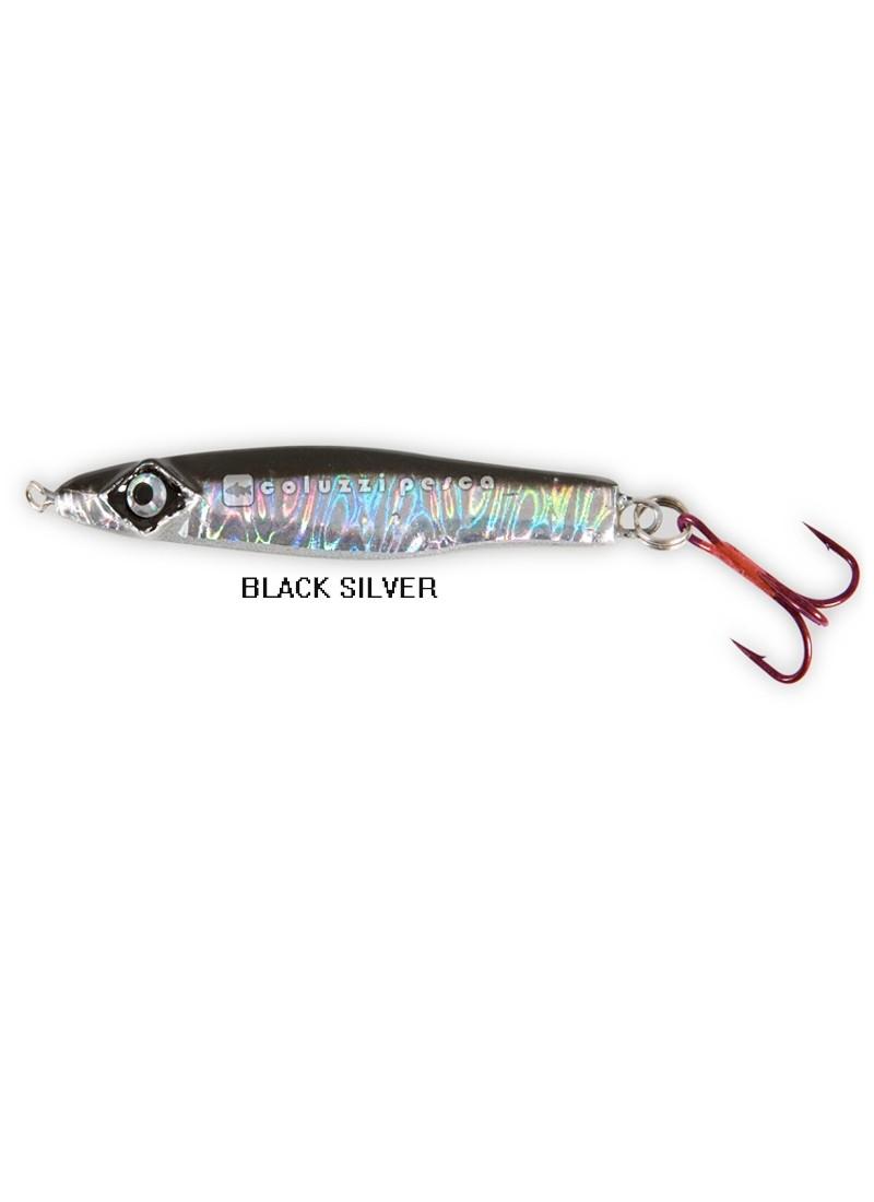 Artificiale LF Hiper Catch Fish Jig Black-Silver 80 g