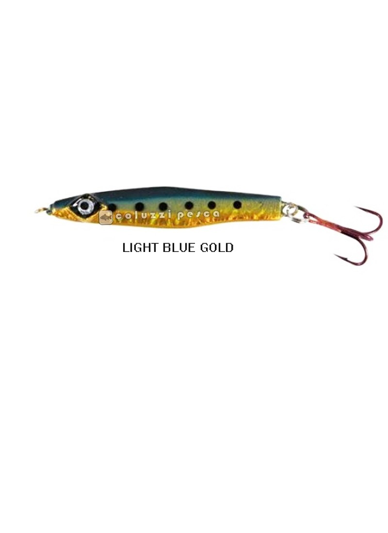 Artificiale Hiper Catch Fish Jig Light Blue-Gold