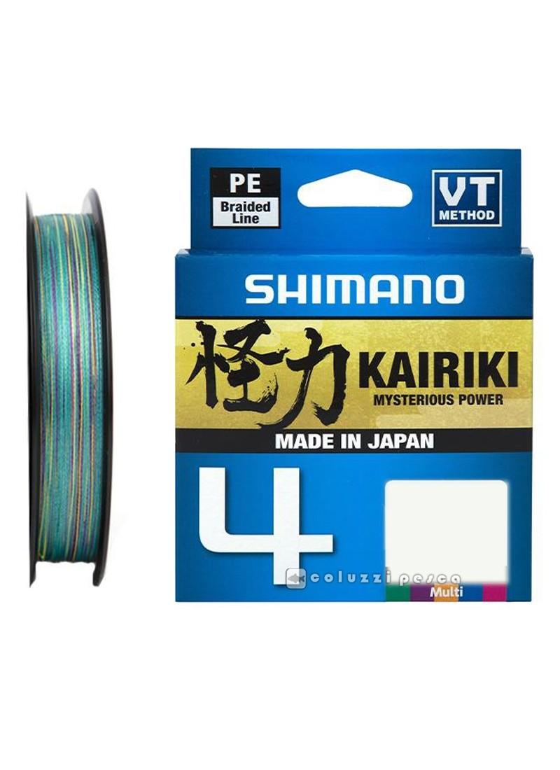 Trecciato Shimano Kairiki 4 300 m Multicolor