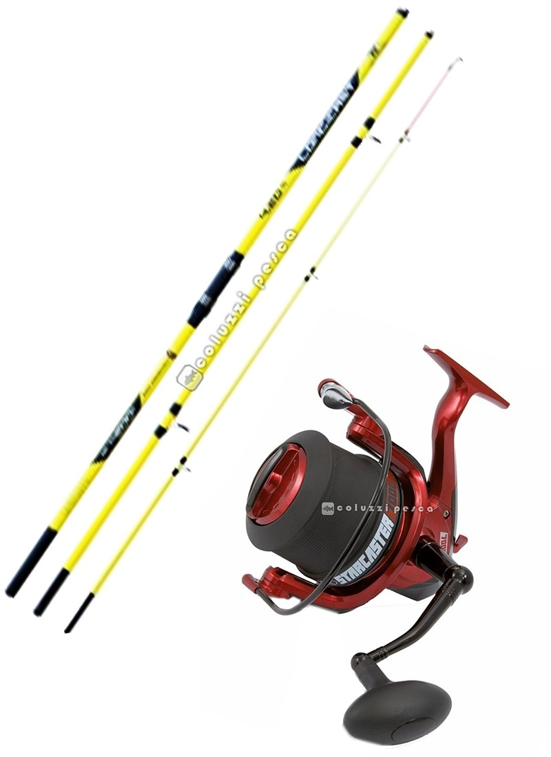 Combo Surf Casting Long Cast 200 g+Starcaster 7000