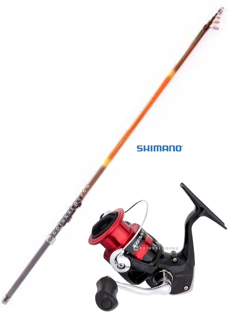 Combo Bolognese Luxury 5 m + Shimano Sienna 2500 FG